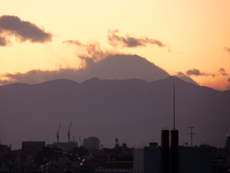 Last Fuji Sunset of the Decade?  Maybe... or maybe not.